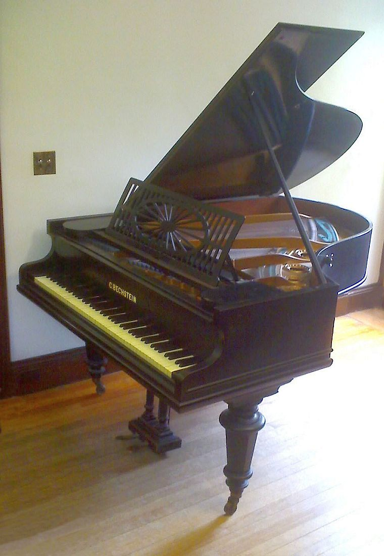1892 Bechstein piano in the Frederick Collection