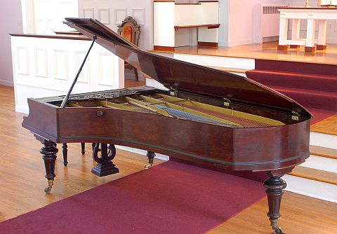 1877 Blüthner in the Frederick Historical Piano Collection