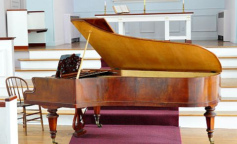 1871 Streicher Frederick Historical Piano Collection