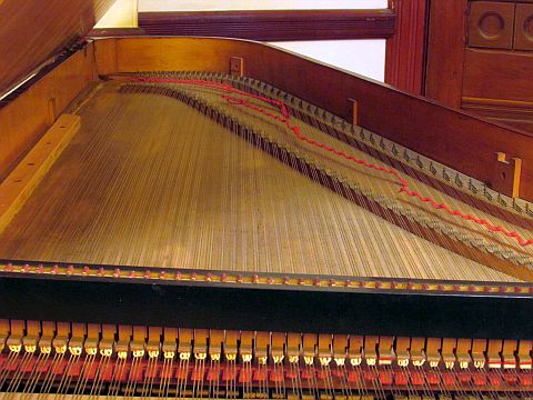 1830 Trondlin Frederick Collection of Historic Pianos